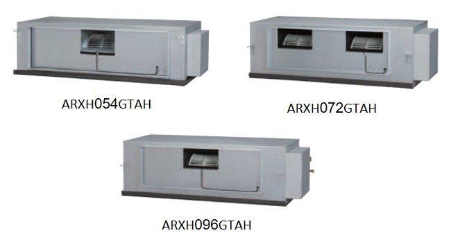 ARXH054GTAH | ARXH072GTAH | ARXH096GTAH